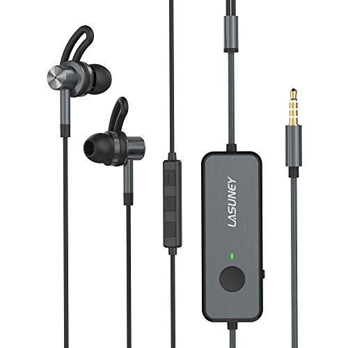 Lasuney Active Noise Cancelling Earbuds, Active Noise