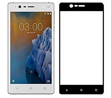 Lr For Nokia 3 Tempered Glass Full Cover Screen Amazonin Electronics