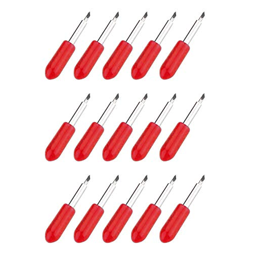 15 Pack Replacement Cutting Blades for Cricut Explore Air 2 Vinyl Cutting Machines 45 Degree