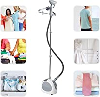 Upright Garment Steamer,PowerDoF Color Random Standing Heavy Duty Hanging Fabric Vertical Steamer for Clothes Full Size with Hanger