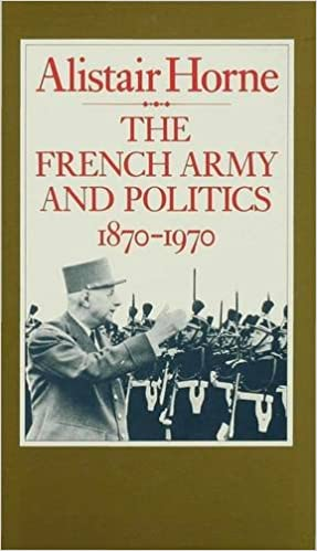 Book French Army and Politics