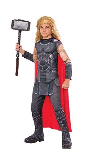 Asgardian Costumes (Boys Halloween Costume-Thor Kids Costume Small)