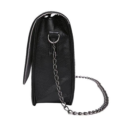 Fashion Bags Women Party Cross Evening Body Chain Gspstyle Handbag Bag Black Shoulder q56pwvUd