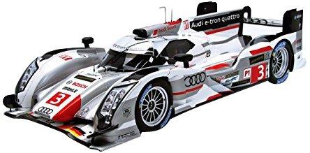 1/18 Audi  R18 e-tron quattro No.3 3rd Le Mans 2013 L.Di Grassi/M.Gene/O.Jarvis(シルバー) 18S110