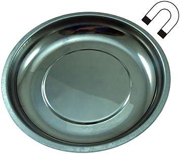 Plato Imantado Magnético para Piezas 150mm. con Base de Goma: Amazon.es: Bricolaje y herramientas