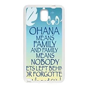 LINGH OHANA Family Cell Phone Case for Samsung Galaxy Note3