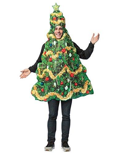 Get Real Christmas Tree Adult Costume - ST -