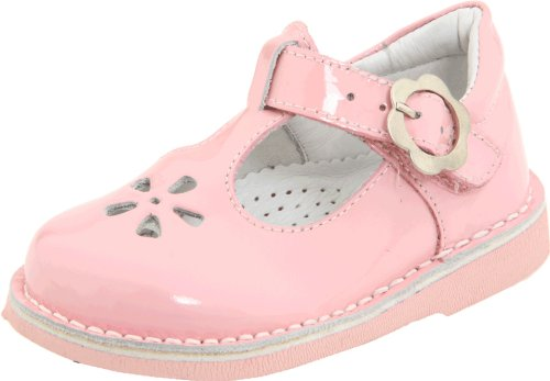 Kid Express Molly 20506883 T-Strap Flat (Toddler/Little Kid),Pink Patent,29 M EU (12-12.5 M US Little Kid) - Kid Express Leather Mary Janes