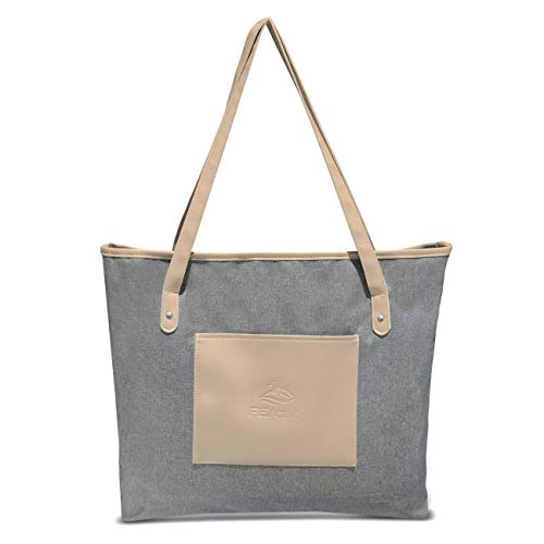 FE Active - High-End Laptop Tote Bag Water Resistant Women's Work and Travel Shoulder Bag Lightweight Design For Everyday Use | Designed in California, USA