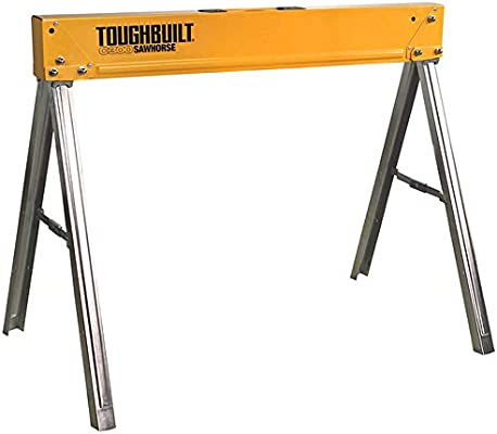 Toughbuilt Sturdy Lightweight Heav Durable Folding Sawhorse//Jobsite Table