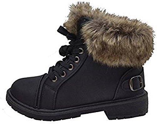 Støvler 8 Størrelse Generiske Sko Grep Umerkede Damene Kamel Vinter Trenere Varm Eneste Fuskepels Ankel Ny 3 Kvinners AqUZROwvA