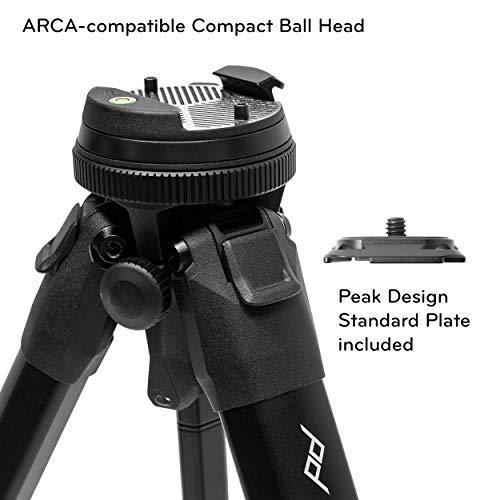 Peak Design Travel Tripod (5 Section Carbon Fiber Camera Tripod)