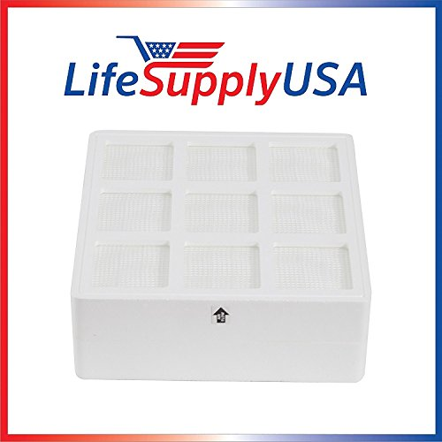 2 Pack LifeSupplyUSA Aftermarket Replacement HEPA filters...
