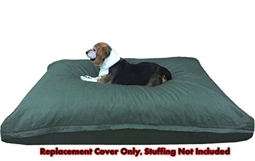Dogbed4less Heavy Duty Canvas Duvet Pet Dog Bed External Cover 47''X29'' Extra Large - Replacement Cover only by Dogbed4less (Image #3)