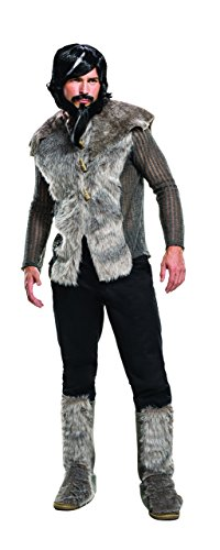 Rubie's Men's Zoolander 2 Derek Faux Fur Coat Costume, Multi, Standard