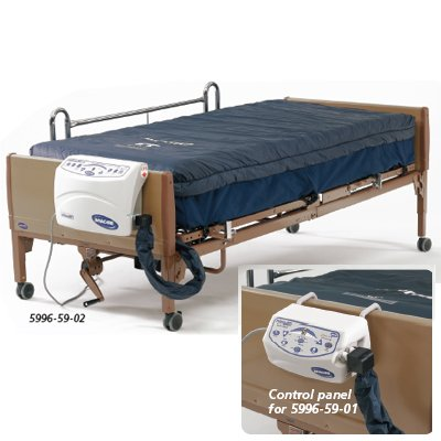 MicroAir Powered Pressure Reduction Mattresses - MA80 True Low Air Loss Therapeutic Support
