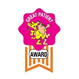 PDC Healthcare 59708905 Label,GREAT PATIENT AWARD, 2'' Badge, Pink (Pack of 250)