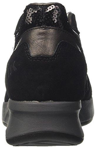 Lumberjack Noir Noir Cb001 Femme Domino black Baskets 35 Eu rqxwArFC
