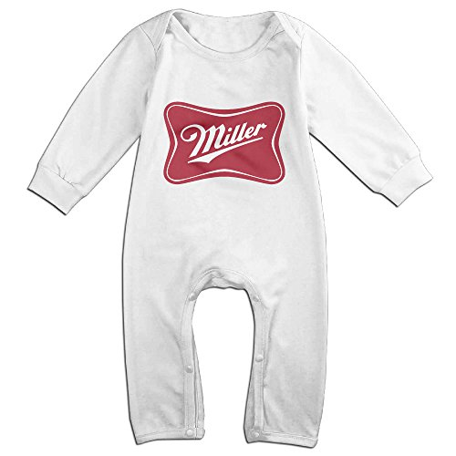 cute-miller-lite-beer-vintage-outfits-for-baby-white-size-18-months