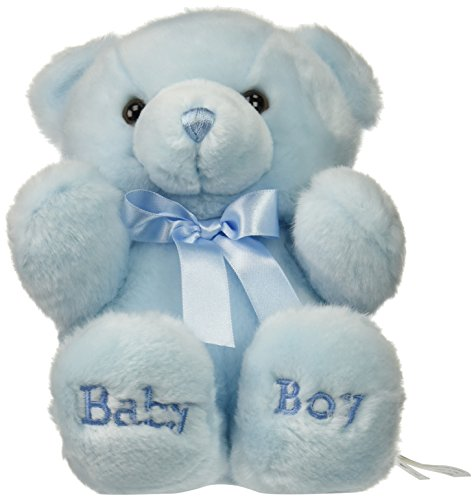 ebba Plush Comfy Blue Baby Boy Bear 10