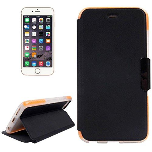 Mobile protection Para el iPhone 6 más la caja horizontal del cuero del tirón con el sostenedor y la ranura para tarjeta ( SKU : IP6P0859WE ) IP6P0859WE