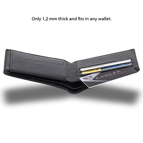 fe5cfcf3907a RFID Blocking Card - CASEZA RFID NFC Card Protector - Signal ...