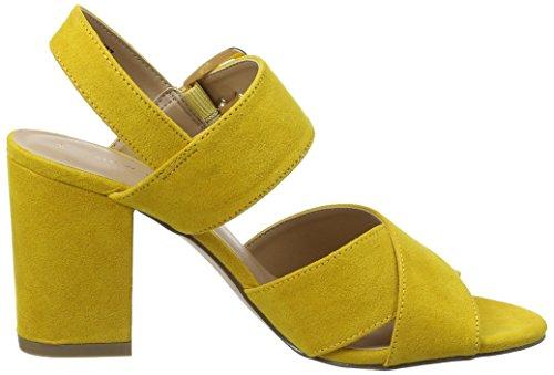 Tacco Donna Look New Resco col 87 Yellow Dark Punta Scarpe Yellow Aperta q1I7ISw