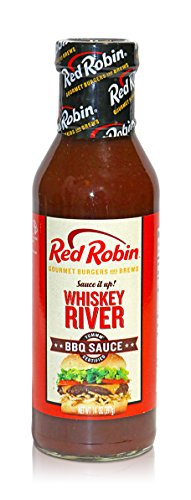 Red Robin Whiskey River Sauce  14 Ounce