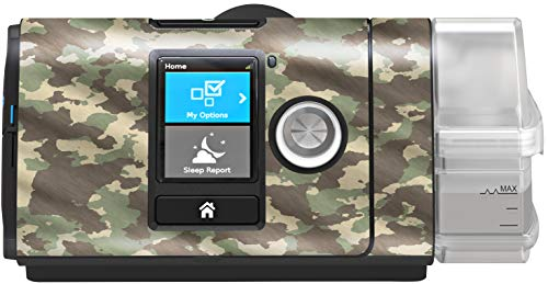 RespLabs CPAPwraps Compatible with ResMed AirSense – Personalize Your Device with a Specialty Skin [Camo Green]