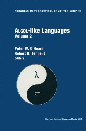 Algol-like Languages (Progress in Theoretical Computer Science Volume 2) by Brand: Birkhäuser