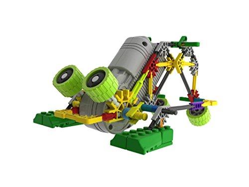 - LOZUSA B/O Robot 118 PCS Motorial Alien Robot Educational STEM Robotic Building Set Block Toy, Battery Operated Motor, 3D Puzzle Design Alien Primate Robot Figure for Kids and Adults
