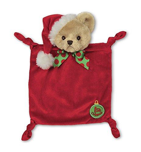 Bearington-Babys-1st-Christmas-Wee-Plush-Security-Blankie-Lovey-9-x-8