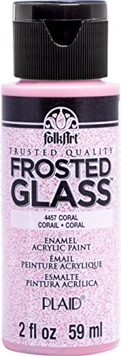 Frosted Coral - FolkArt 4457 Enamel Paint, 2 oz, Frosted Coral