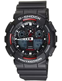 Casio Men's G-Shock GA100-1A4 Digital Resin Quartz Watch