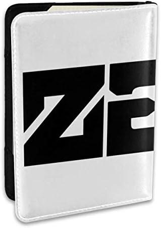 Zedd パスポートケース メンズ レディース パスポートカバー パスポートバッグ ポーチ 6.5インチ PUレザー スキミング防止 安全な海外旅行用 収納ポケット 名刺 クレジットカード 航空券