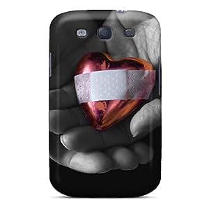 Galaxy Case - Tpu Case Protective For Galaxy S3- Broken Heart