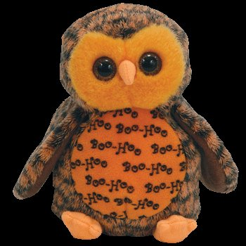 c65ccf0fb69 Image Unavailable. Image not available for. Color  Ty Beanie Babies Boo  Who  - Owl (Hallmark Gold Crown Exclusive)