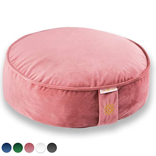 Mindful Modern Velvet Meditation Cushion product image