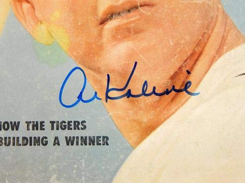 Sport Magazine 7/57 Signed By Al Kaline Autograph Cover Auto Autographed MLB Magazines