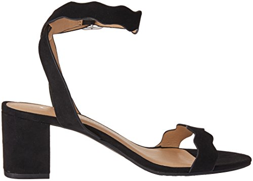 Chinese Laundry Heeled Suede Black Women's CL Jessenia by Sandal FqZAxA