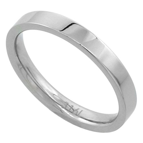 Surgical Stainless Wedding Comfort Fit Polish