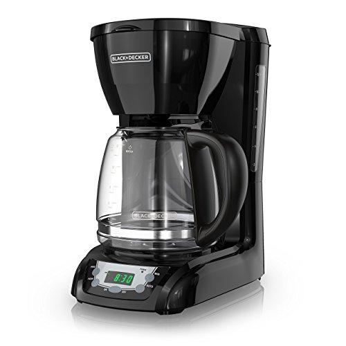 BLACK+DECKER DLX1050B Coffee Maker, Black (Renewed)