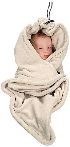 Hoppediz Fleece Blanket (Cream) by BabyCentre