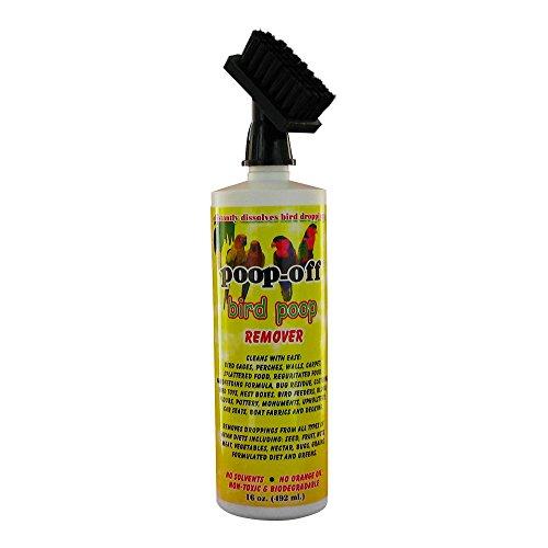 Poop-Off Bird Poop Remover Brush Top, 16-Ounce