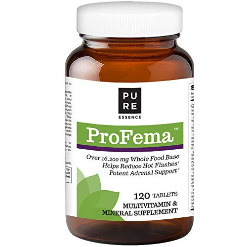 ProFema by Pure Essence Labs - Natural Menopause Relief Vitamins for Hormone Balance and Hot Flash Support - 120 Capsules