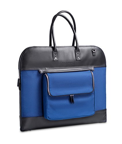 LEATHER SUIT AND GARMENT BAG - FOR BUSINESS AND TRAVEL MEN AND WOMEN