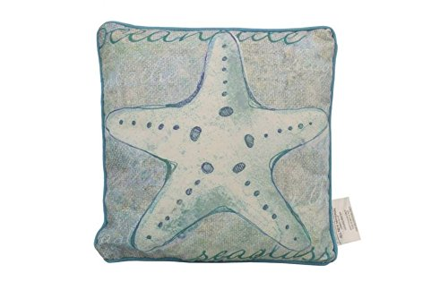 Hampton-Nautical-Y-64395-Blue-Star-Blue-White-Starfish-Decorative-Throw-Pillow-10-Nautical-Decor-Nautical-Home-Decoration