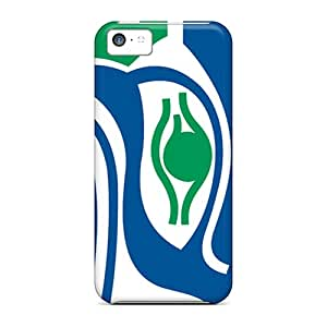 Excellent Hard Cell-phone Cases For Iphone 5c With Allow Personal Design Realistic Seattle Seahawks Series AlissaDubois