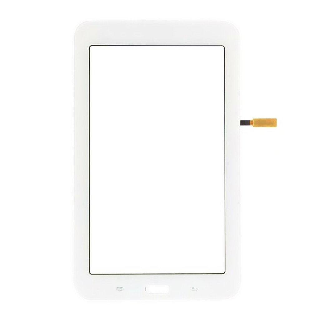 XRmarket Touch Screen Glass Digitizer Replacement for Samsung Galaxy Tab 3 Lite 7.0 SM-T110,NOT for T111&T113 (No Earpiece Hole) White
