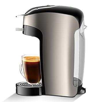 NESCAF Dolce Gusto Coffee Machine, Esperta Espresso Cappuccino and Latte Pod Machine with Coffee Capsules Espresso Intenso 48 Single Serve Pods and Cappuccino 48 Single Serve Pods